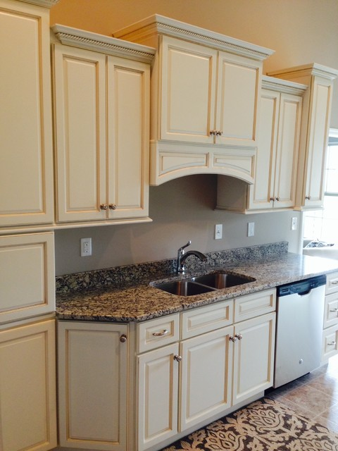 Madison White Kitchen Cabinets Design Traditional Other By
