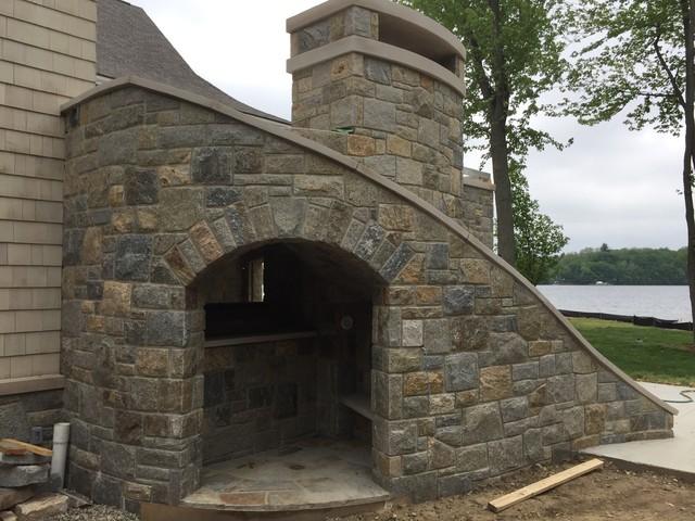 Stone Grotto Craftsman Detroit by Albaugh Masonry