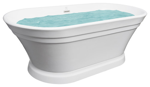 How Many Gallons Of Water Does This Bathtub Hold?