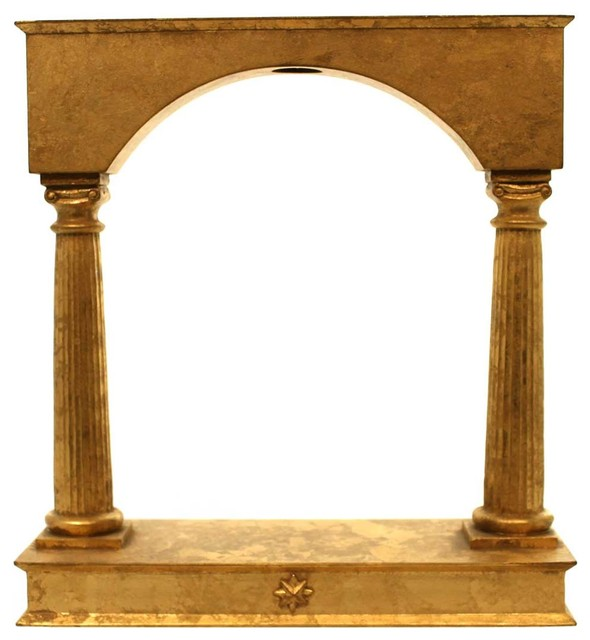 Christopher Radko Pall Arch Wood Ornament Hanger Displayer.