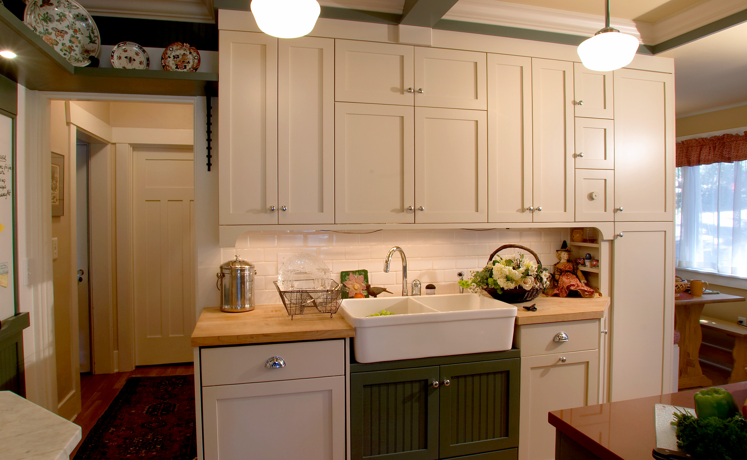 Phinney Ridge Kitchen, Dining Room, Front Entry Remodel - Home Birth Year 1023
