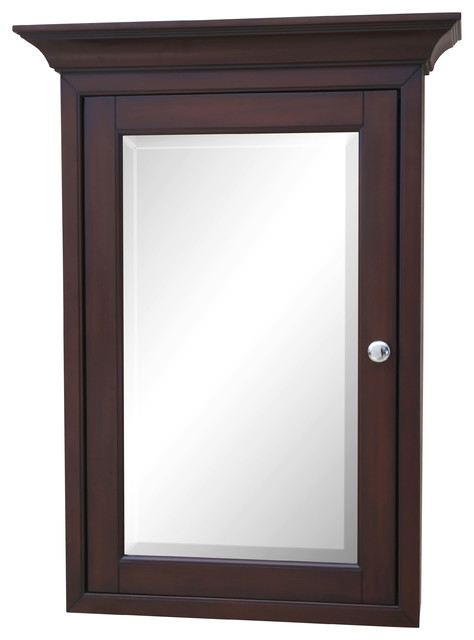 Newport Wall-Mounted Medicine Cabinet - Traditional - Medicine Cabinets - by Kitchen Bath Collection