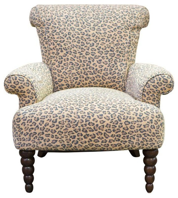 leopard print rolled back arm chair modern armchairs accent chairs for living room under 200 canada