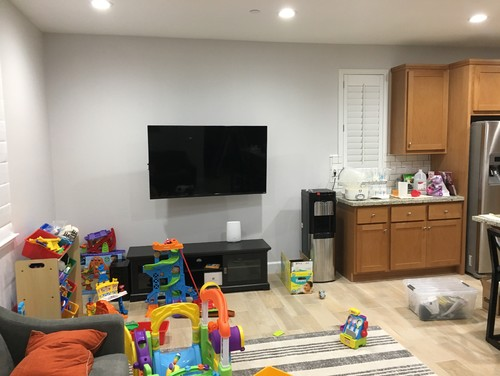 Help Shared Wall Kitchen Family Room