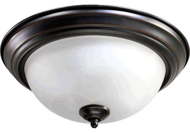 Quorum Lighting 3066-15-95 Flush Mount Ceiling Light, Old World.