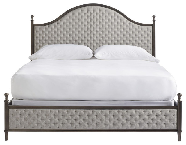 TRADITIONS - KINGSBURY COGNAC CARNEGIE QUEEN BED