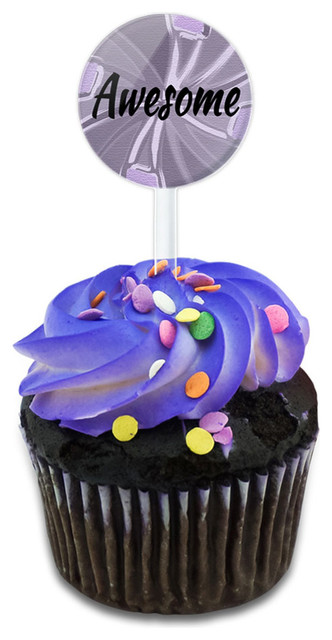 Awesome Oh So You Are Cupcake Toppers Picks Set.