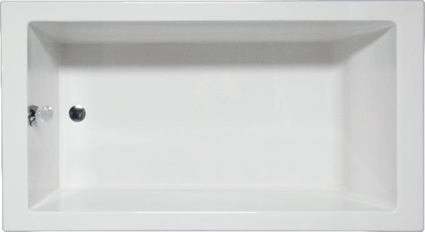 Wright 7232, Builder Series, Bathtub, White.
