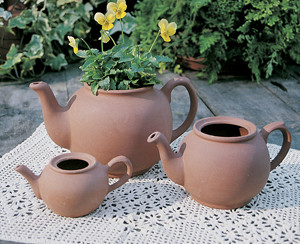 English Teapot Planter