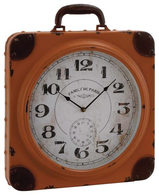Rustic Table Clock: Desk And Mantel Clocks