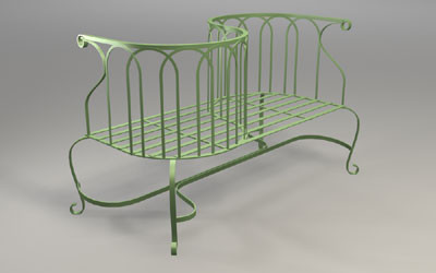 Outdoor Patio Furniture on Steel Garden Bench Traditional Patio Furniture And Outdoor Furniture