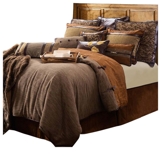 5 Piece Highland Lodge Collection Contemporary Comforters And Comforter Sets By Hiend Accents Houzz