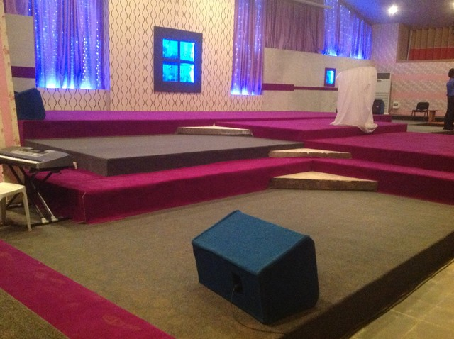 Church Stage Design Ideas. Contemporary