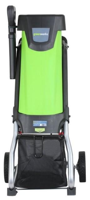 Greenworks 15 Amp Electric Chipper And Shredder