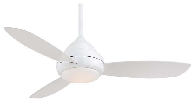 Minka Aire Concept I White 52 Ceiling Fan.
