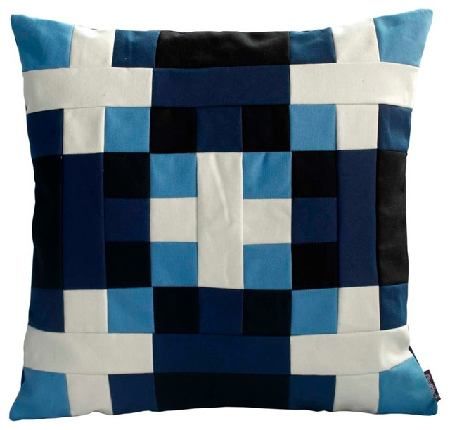 Blancho Bedding - Multi-Color J Stripe Decorative Throw Pillow & Reviews Houzz