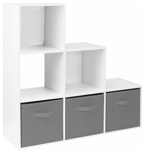 Modern Storage Cabinet Mdf With Drawers And Open Compartment Cabinets By Decor Love
