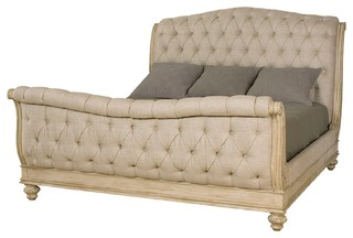 American Drew Jessica McClintock Boutique California King Sleigh Bed