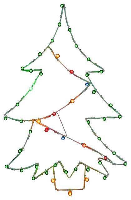 "48""x32"" Christmas Tree Wire Motif."