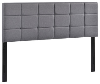 Poly and Bark Rochelle Panel-Tufted Queen Headboard