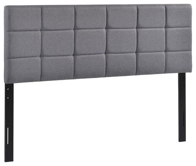 Poly And Bark Rochelle Panel-Tufted Queen Headboard.