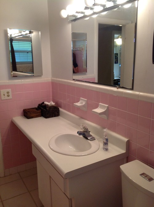 Bathroom Walls To Tile Or Not To Tile