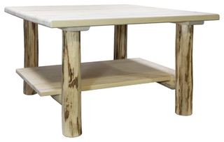 Montana Collection Cocktail Table With Shelf - Coffee Tables - by ...