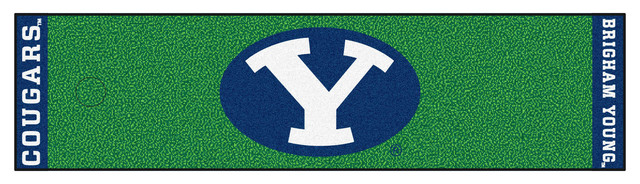 FANMATS BYU Cougars Golf Putting Green Mat Outdoor And  : contemporary outdoor and lawn games from www.houzz.com size 640 x 184 jpeg 73kB