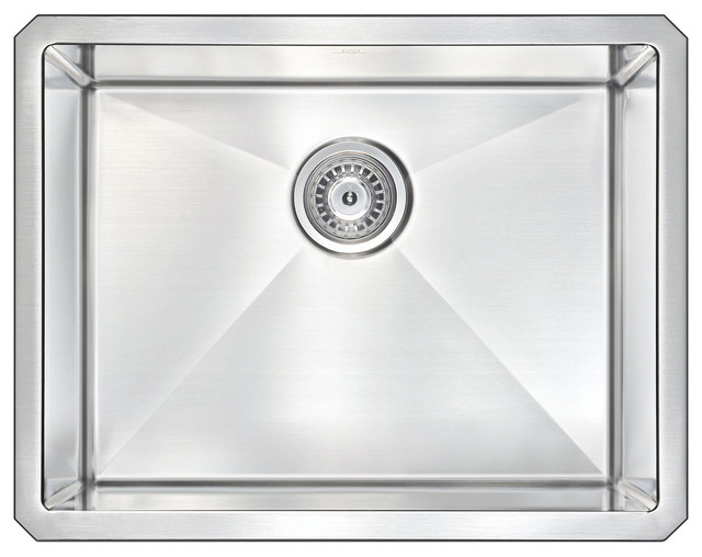 Anzzi Vanguard Undermount Stainless Steel Kitchen Sink W/soave Faucet, Orb.