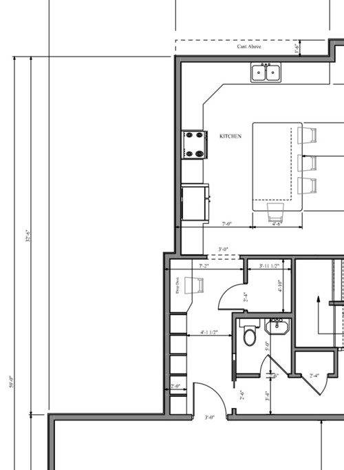 Need help for kitchen layout where to put fridge and for Kitchen layout help