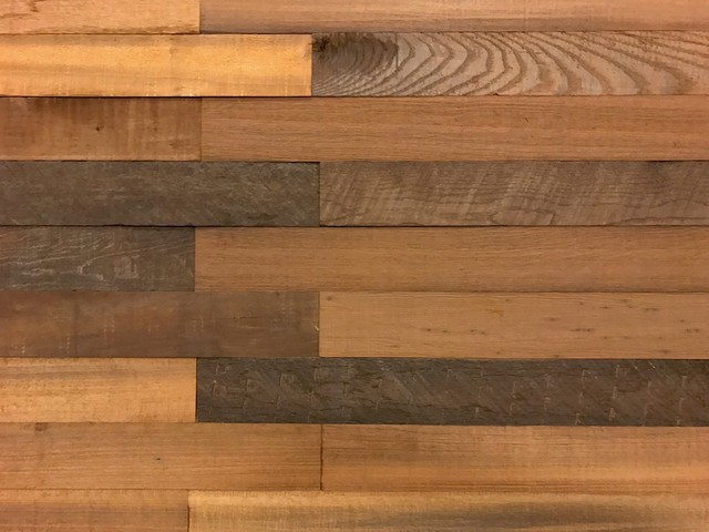 12x28 Smart Paneling 3d Reclaimed Barn Wood Wall Panels Rustic,set Of 10,20 Sf.