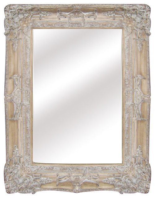 "Regency Mirror, 29.8""x37.7"" - Traditional - Bathroom Mirrors - by Legion Furniture"