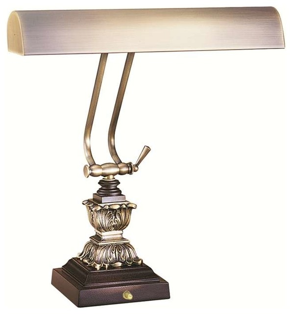 House Of Troy P14 232 C71 Piano Desk Lamp Antique Brass