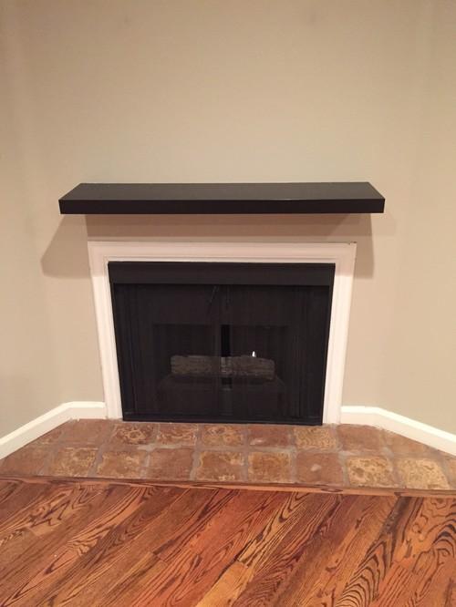 Fireplace mantel/wall condo