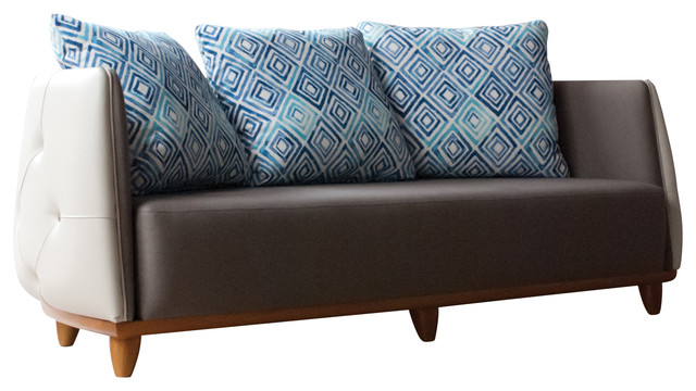 Tecni Nova Tufted Curved Sofa