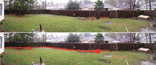 please help with backyard drainage problems
