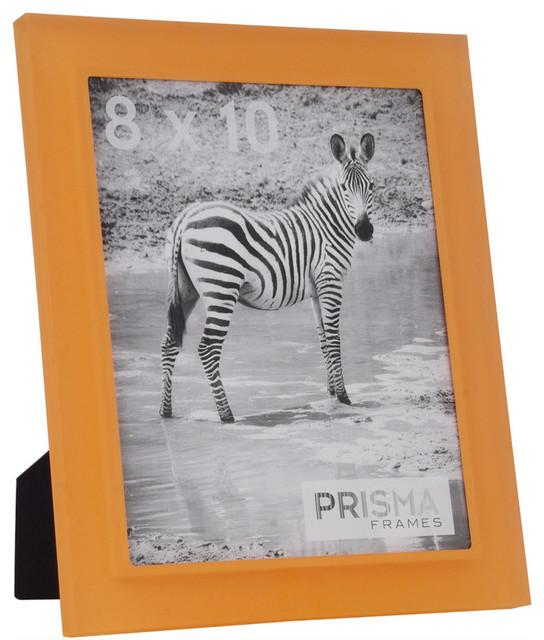 Tangerine Prisma Acrylic Picture Frame Contemporary Picture