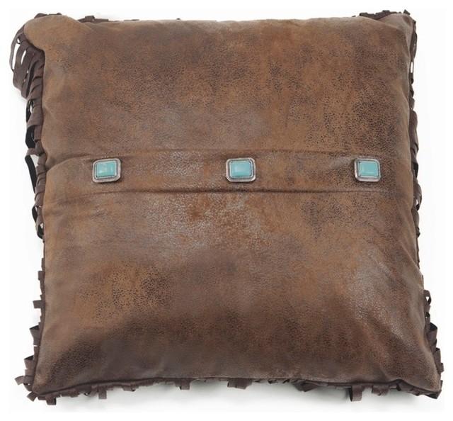 Conchos Pillow Southwestern Decorative Pillows By