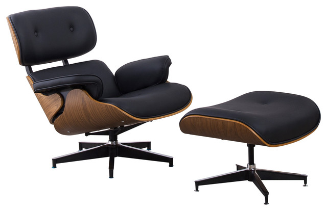 Home Beyond 2 Piece Leisure Chair and Ottoman Set