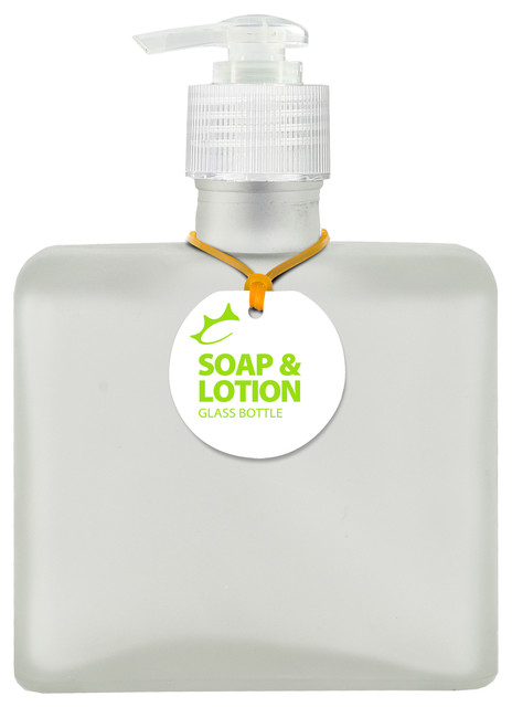 e80a5dc990cc Couronne Co. Matic 8.5oz Recycled Glass Lotion or Soap Bottle ...