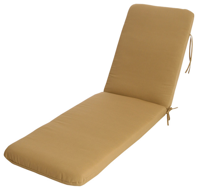 Buyers choice usa phat tommy chaise lounge cushion seat for Chaise cushion covers