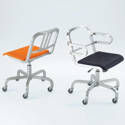 Emeco - Nine-0 Swivel Chair modern task chairs
