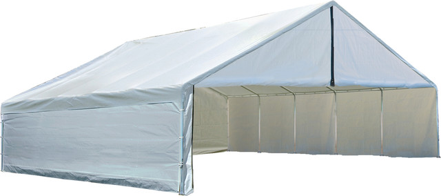 Canopy Enclosure Kit 30x30 Ft White Canopy Cover And Frame Sold Separately.