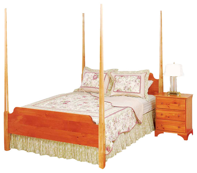 The Renovator\'s Supply Inc. - Bed Heirloom Pine Queen Pencil Post ...