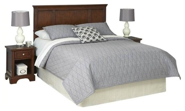 Hawthorne collections queen panel headboard and two - Hawthorne bedroom furniture collection ...