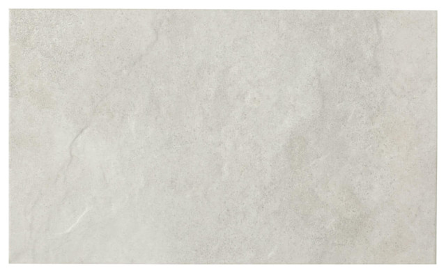 Riven Wall and Floor Tiles, Matte White, Set of 5 m²
