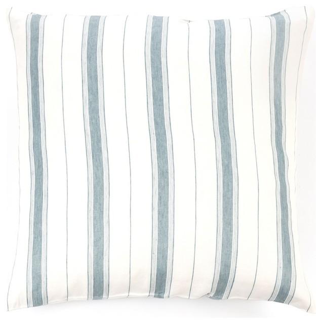 Libeco Vineyard Stripe Bed Linens, Euro Pillow Sham, 26x26