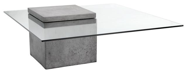 Gregor Concrete Coffee Table.
