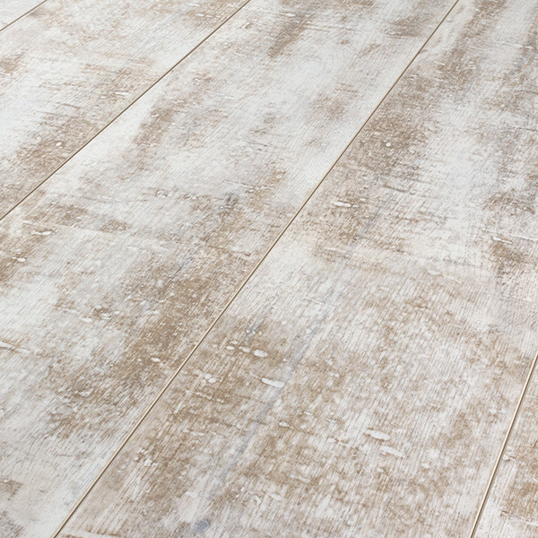 Armstrong Architectural Remnants Milk Paint 12 mm. Laminate Flooring Sample