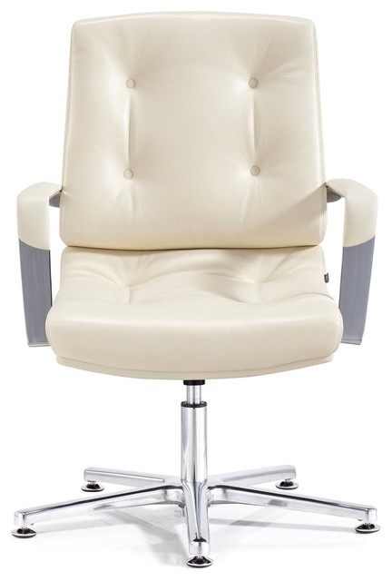 Perot Leather And Chrome Adjule